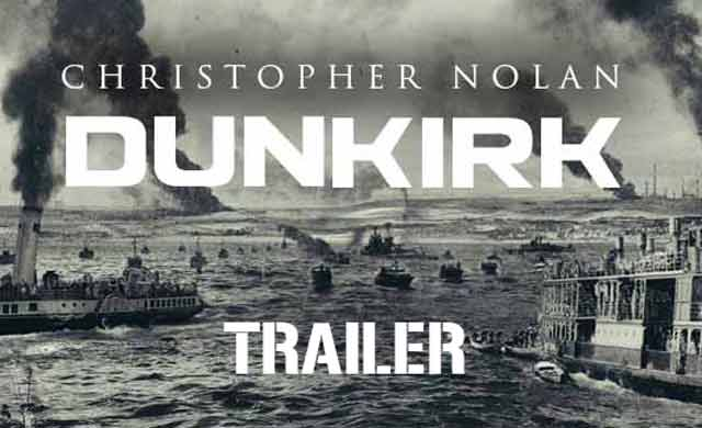 Dunkirk Official Trailer