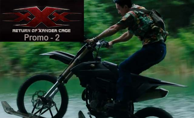 xXx Return of Xander Cage Motorcycle Chase Clip