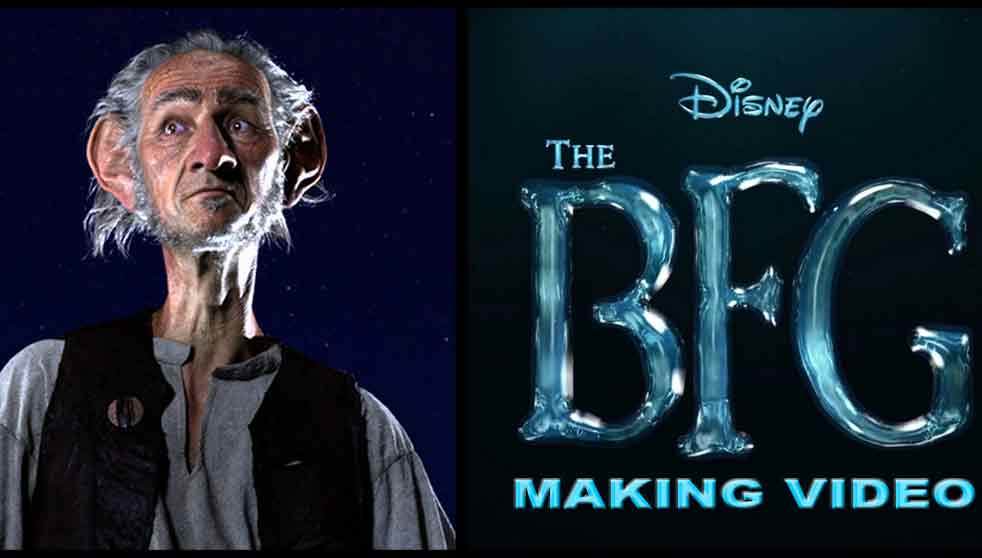 Behind the scenes of The BFG