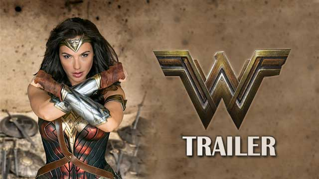Wonder Woman Official trailer