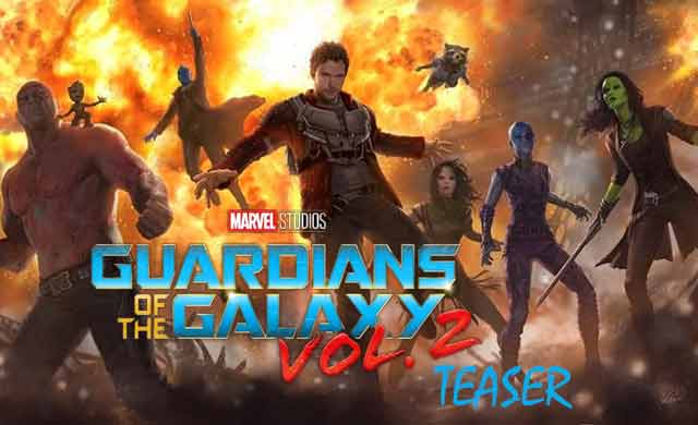 Guardians of the Galaxy Vol 2 Teaser