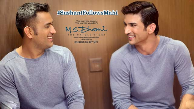 M.S.Dhoni - The Untold Story - Sushant Follows Mahi