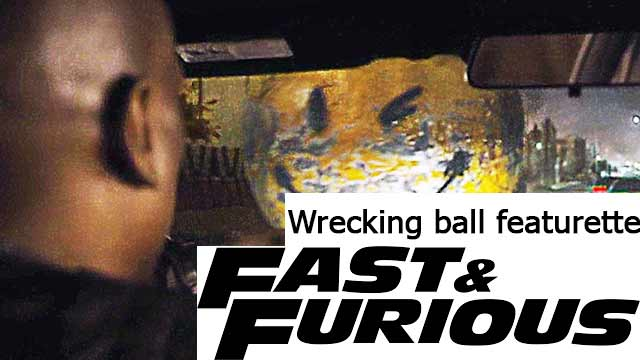 Fast & Furious 8 Wrecking ball featurette