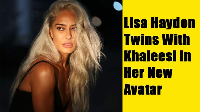 Lisa Hayden Twins With Khaleesi In Her New Avatar