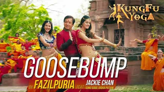 Goosebump Kung Fu Yoga