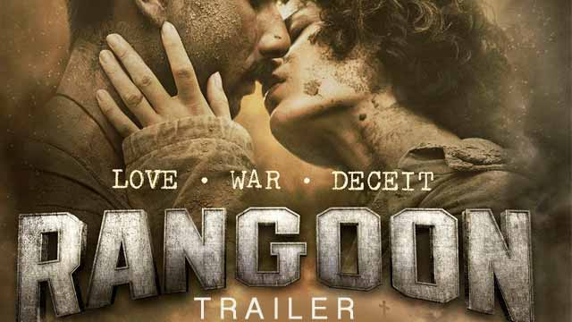 Rangoon  Official Trailer