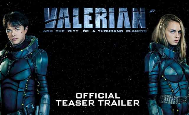 VALERIAN Official Trailer 2