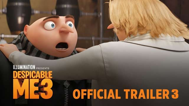 Despicable Me 3 Official Trailer 3