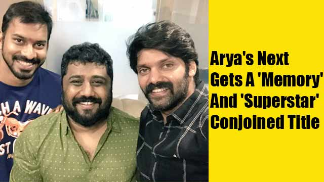 Arya's Next Gets A 'Memory' And 'Superstar' Conjoined Title