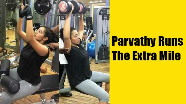 Parvathy Menon Runs The Extra Mile