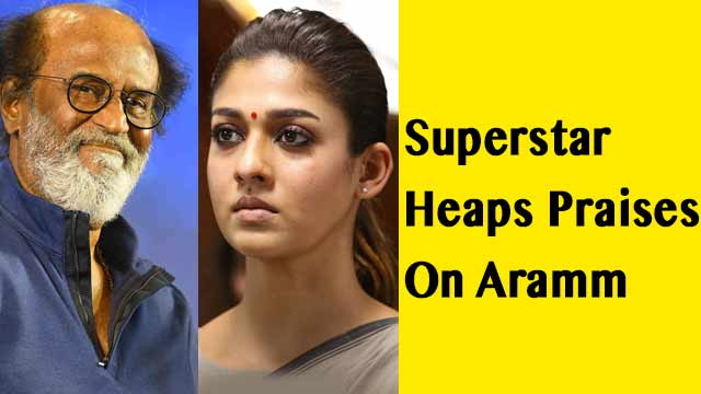 Superstar Heaps Praises On Aramm