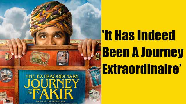 'It Has Indeed Been A Journey Extraordinaire'