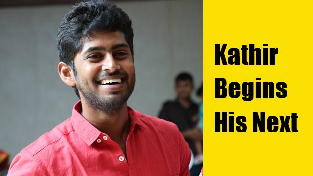 Kathir begins his next