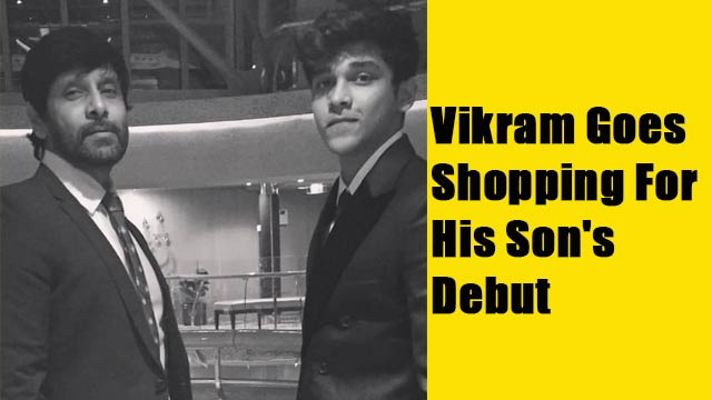 Vikram Goes Shopping For His's Son's Debut