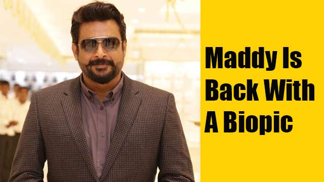 Maddy is back with a biopic