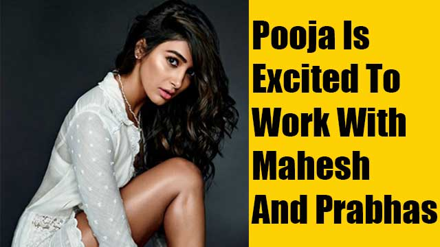 Pooja Is Excited To Work With Mahesh And Prabhas
